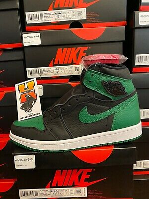 2020 Nike Air Jordan 1 Retro High Pine Green Black 555088 030 Men & GS Sz: 4Y-13