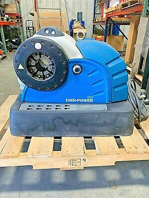Finn-power 32ms Hydraulic Hose Crimper For Up To A 2 Hose