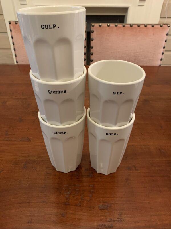 Rae Dunn Melamine Cups