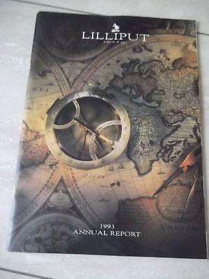 Lilliput Group Plc. Annual Report 1993.