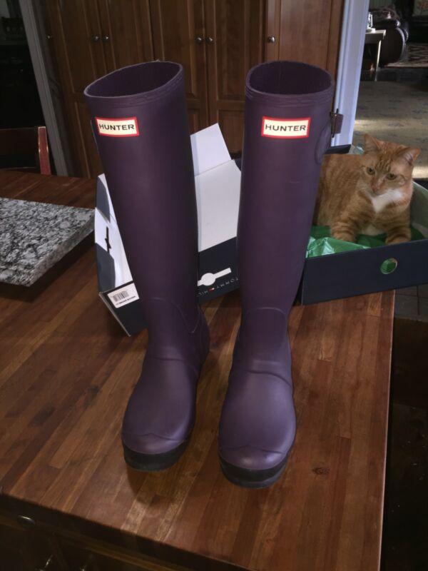 Hunter brand Boots