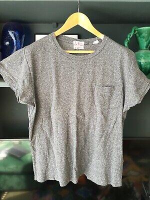 Levi's Vintage Clothing t-shirt mens Medium M tshirt jersey grey marl chiné