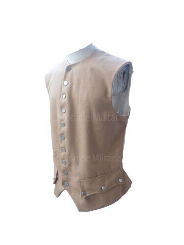 Revolutionary war tan wool vest