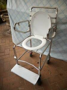 wheelchair overtoilet shower commode Concord West Canada Bay Area Preview