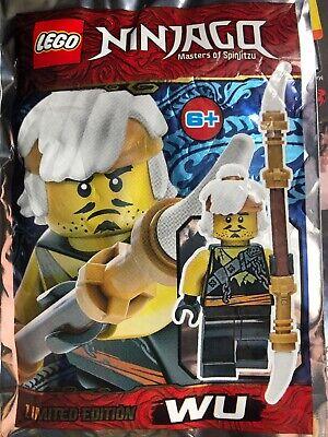 Lego Ninjago Master Wu Mini Figure Polybag
