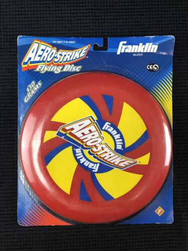 Rare Franklin Sports Frisbee flying disc aero-strike disc go
