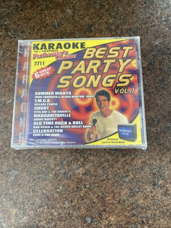 Best Party Songs Volume 1-3 1 2 3 Karaoke Performers Choice New Sealed 3 CD