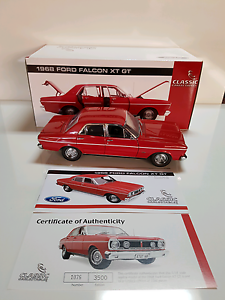 Di cast 1:18. 1968 Ford XT Falcon GT Colour: Candy Apple Red Mirrabooka Stirling Area Preview