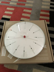 Arne Jacobsen Bankers Clock. Made in Germany. Perfect Working Condition.