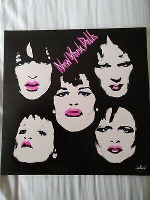 New York Dolls 12 inch vinyl double album 1974 new condition