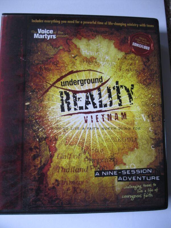 UnderGround Reality Vietnam DVD bible study series (plus bonus Columbia DVD)