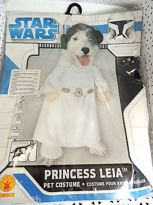Princess Costume For Dogs (Star Wars PRINCESS LEIA Pet Costume for SMALL DOGS - NEW )