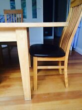 Solid Oak Dining table and 8 Chairs North Balgowlah Manly Area Preview