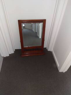 FOR SALE  MAHOGANY MIRROR