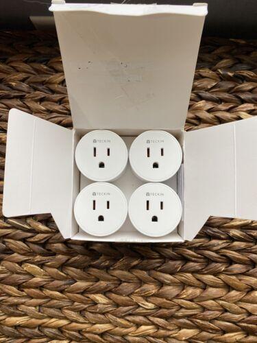 TECKIN WiFi Smart Plug/Socket/Outlet /SP10/10A Resistive/120V/1200W/ New 4pack  - $13.00