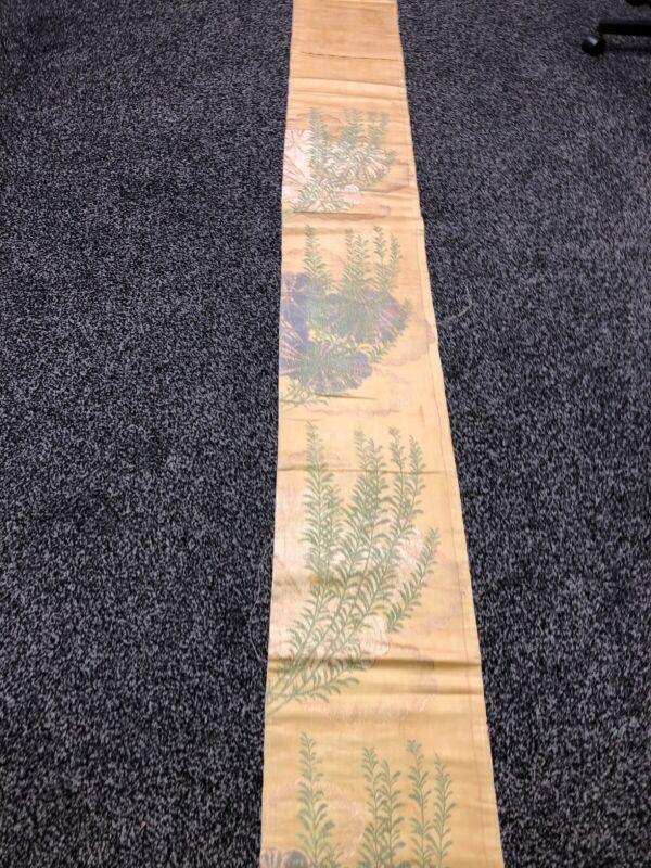 Japanese Kimono Obi Vintage To Antique Sash belt Decor table liner Runner