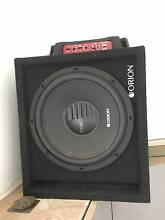 subwoofer and amp  suit troopy Woolner Darwin City Preview