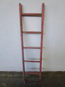D8087 Vintage Industrial Ladder Kitchen Utensil Hanger Mount Barker Mount Barker Area Preview