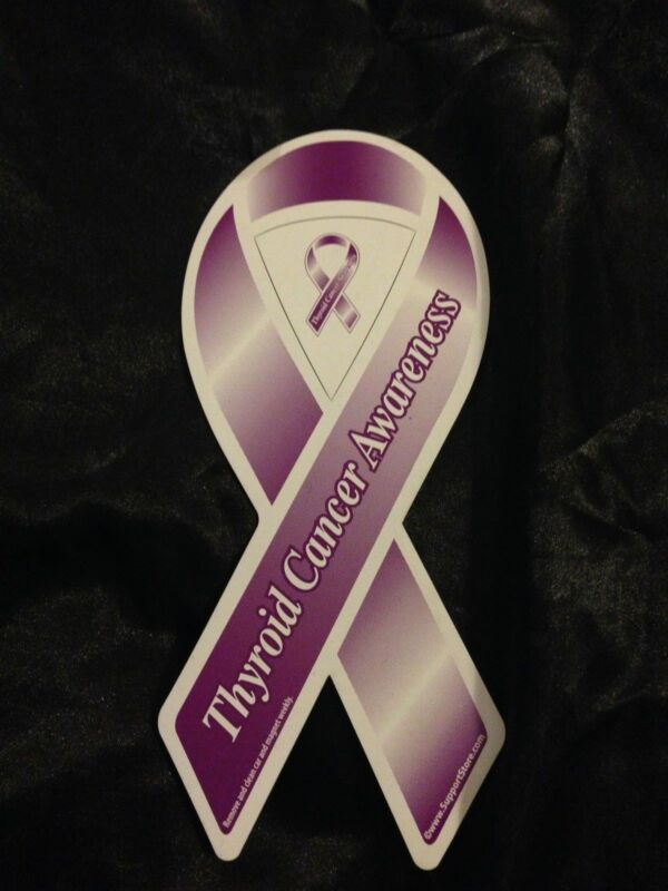 THYROID CANCER AWARENESS MAGNET