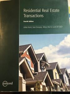 Residential real estate transactions fourth edition