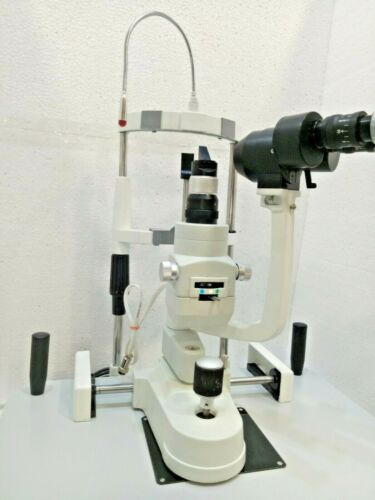 New Slit Lamp 2 Step Zeiss Type with Accessories