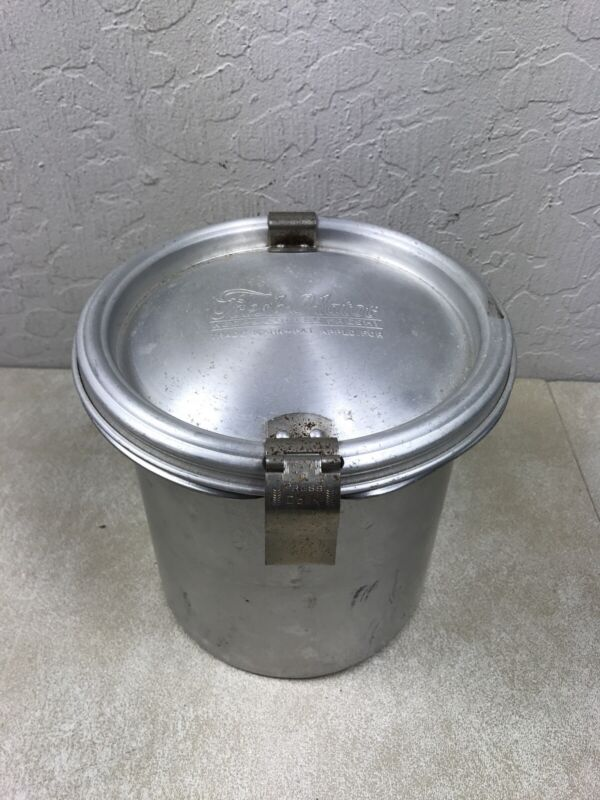 Vintage, Fresh-O-lator Aluminum Coffee Canister