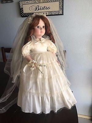 """Bride Doll By Seymour Mann,16"""""""