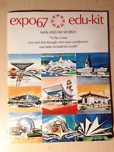 EXPO 67 EDU KIT Man and his World from 1967 Expo Montreal