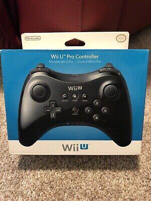 Nintendo Wii U Pro Controller Brand New