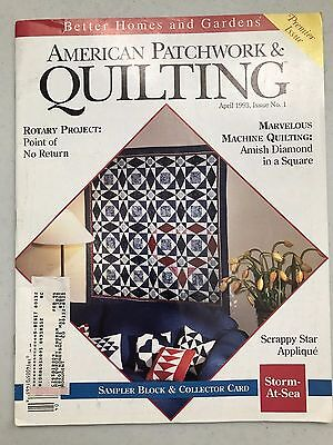 Better Homes and Gardens-American Patchwork & Quilting Magazines 1993-2006