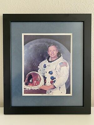 Neil Armstrong Signed Autograph Inscribed Framed Photo Zarelli Authenticated