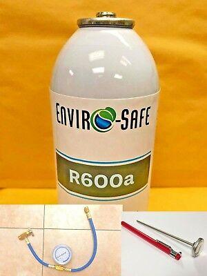 R600a Modern Refrigerant Convenient 6 Oz. Can Isobutane R-600 Gas Kit E1