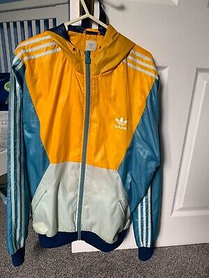 adidas originals windbreaker Jacket Cal Surf Rare Size Large Condition Used