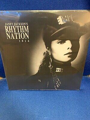 JANET JACKSON RHYTHM NATION 1814 2 X SILVER VINYL LP 2019 SEALED/NEW Rare