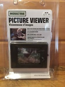 Moultrie SD card Hunting Trail Camera Picture Viewer