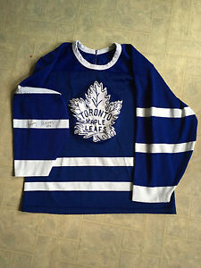 Jonny Bower Toronto hockey Jersey