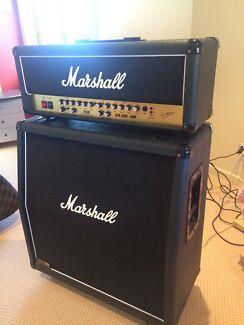 Marshall JCM 2000 TSL60 and 1960A 4 x 12 cabinet