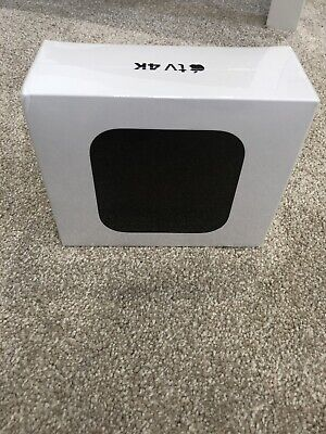 Apple TV 4K (64GB) - Black 4K HDR Media Streamer (5th Gen.) NEW & SEALED