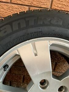 Wheels and tyres to suit Holden commodore