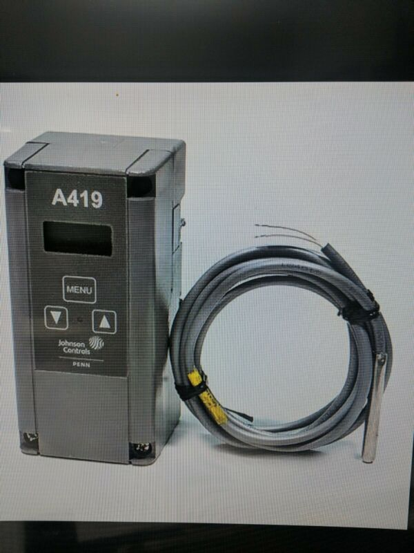 A419GBF-1C | ELECTRONIC TEMP CONTROL; WITH DISPLAY & SENSOR (24VAC) HTG/CLG RANG