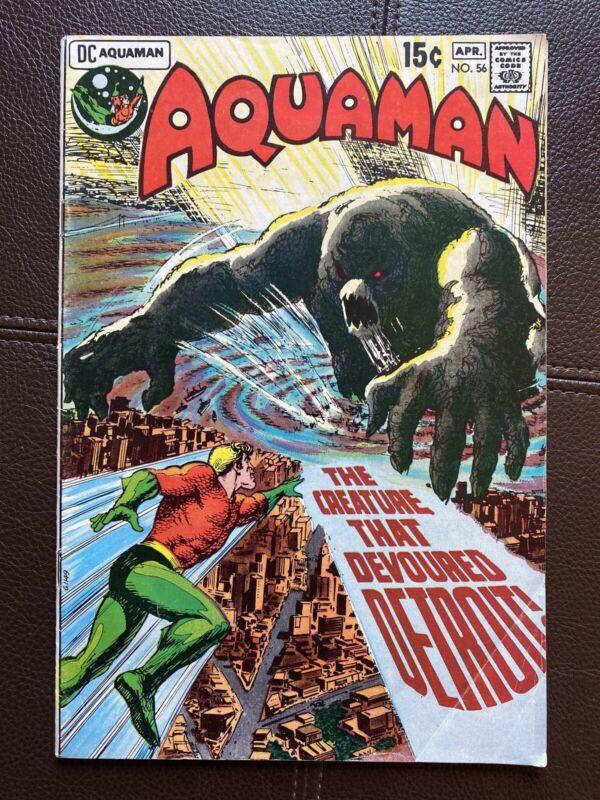 Bronze Age Aquaman (1962 series) #56 F/VF DC comics 1971 NICE COPY