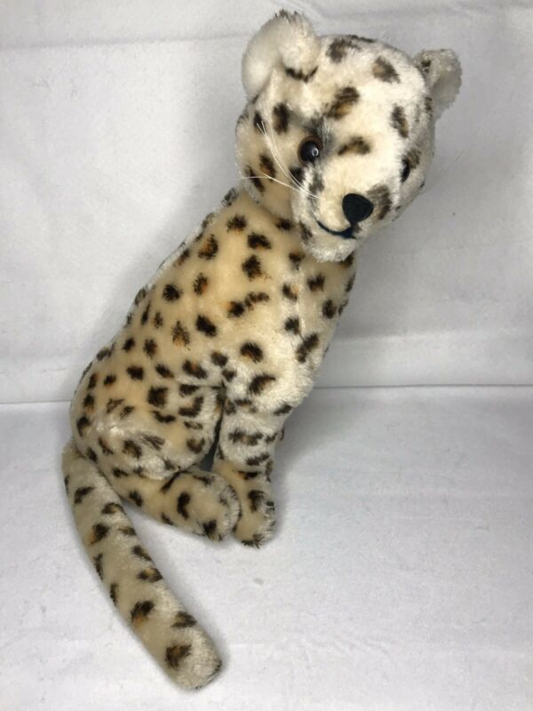 "Vintage 1976 DAKIN Fun Farm Safari Chi the Cheetah 13"" Plush Stuffed Toy"