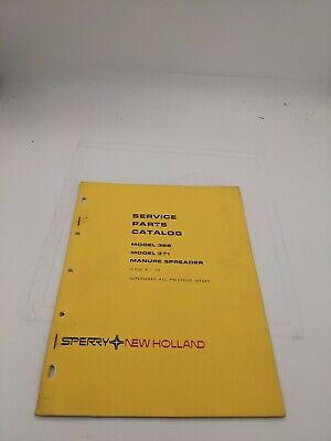 New Holland Service Parts Catalog 368 371 Manure Spreader 8-75