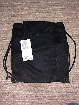 "NWT Lululemon In A Cinch Pack Drawstring Backpack 16"" X 14"""