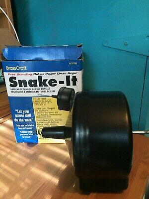 Brasscraft Snake-it Free Standing Deluxe Power Drum Auger 14 X 20