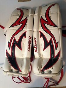 McKenney goalie Pads. Model: Pro Spec 270. OBO