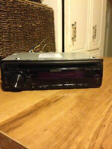 Kenwood car stereo deck