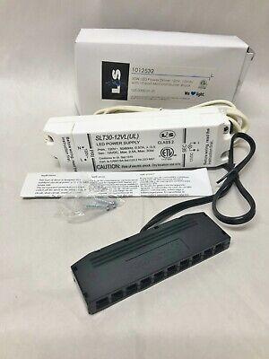 Mini Port Driver (L & S LED Power Supply Driver SLT30-12VL (UL) w/ 10 port mini distributor )