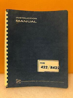 Tektronix 070-0434-00 422r422 Oscilloscope Instruction Manual