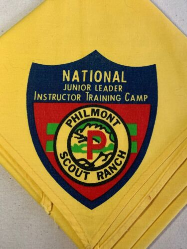 PHILMONT SCOUT RANCH National Junior Leader Instructor Training Camp NECKERCHIEF